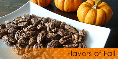 Maple Pumpkin Pie Spice Pecans