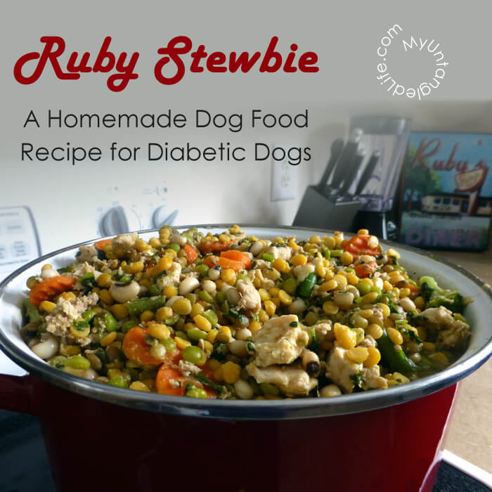 Homemade diabetic dog food recipe ruby stewbie homemade diabetic dog food recipe forumfinder Image collections