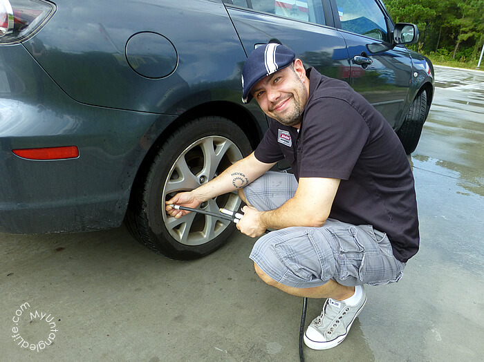 Tire Pressure Checks with #WalmartAuto