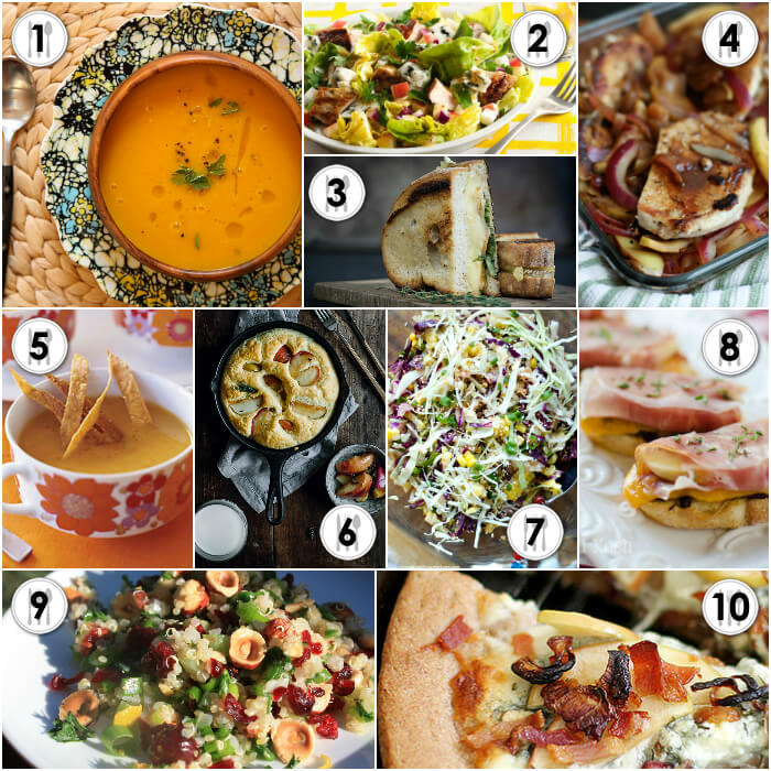 Savory Apple Recipes - A delicious collection from MyUntangled Life
