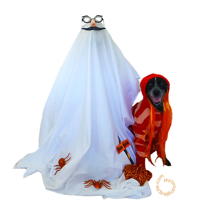 Ghastly Dog Ghost - MyUntangled Halloween
