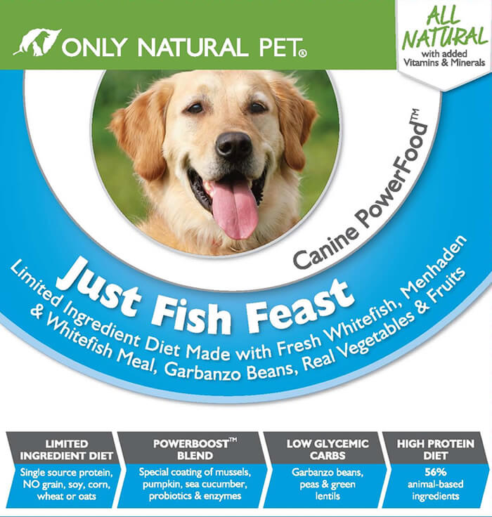 #FarmtoBowl Just Fish Feast Canine PowerFood