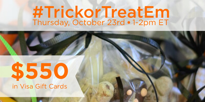 RSVP for the #TrickorTreatEm Twitter Party!