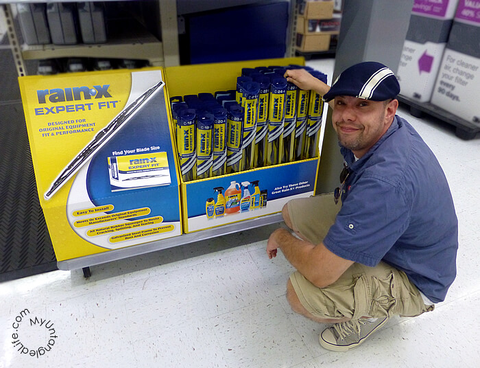 #WalmartAuto Picking Out Wipers