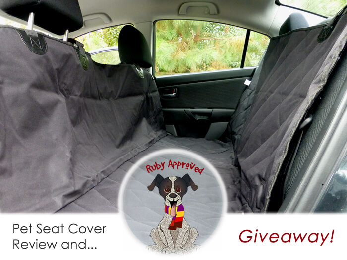 4knines Car Seat Cover Review and Giveaway!!