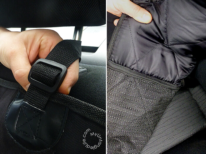 4knines car seat cover construction is the best I've ever seen!