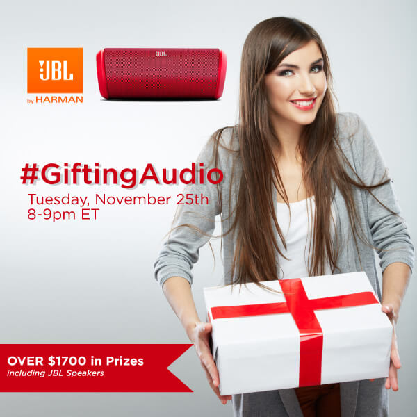 #GiftingAudio Twitter Party 11-25-8pm EST