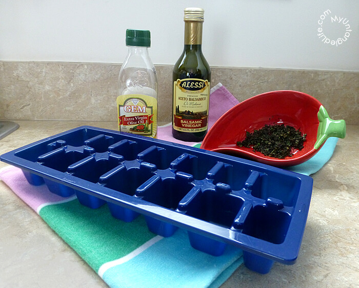 How to Freeze Basil with MyUntangled Life