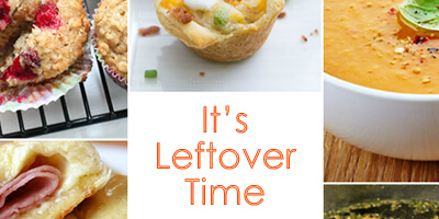 Leftover Recipe Ideas - #thingsworthsharing