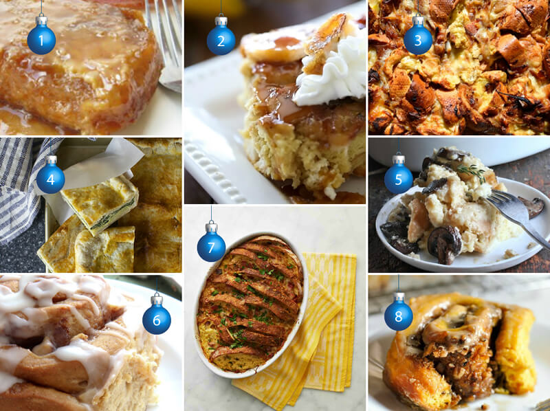 Make-ahead Breakfast Dishes for Holiday Morning!