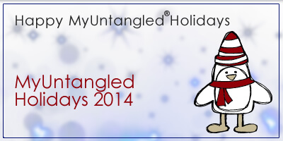 Happy MyUntangled Holidays 2014