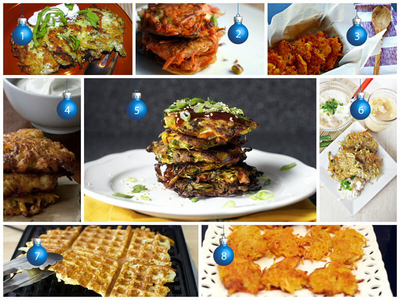Latke Recipes Roundup - MyUntangledLife.com