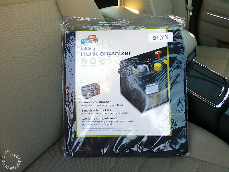 Organize Your Trunk with #walmartauto