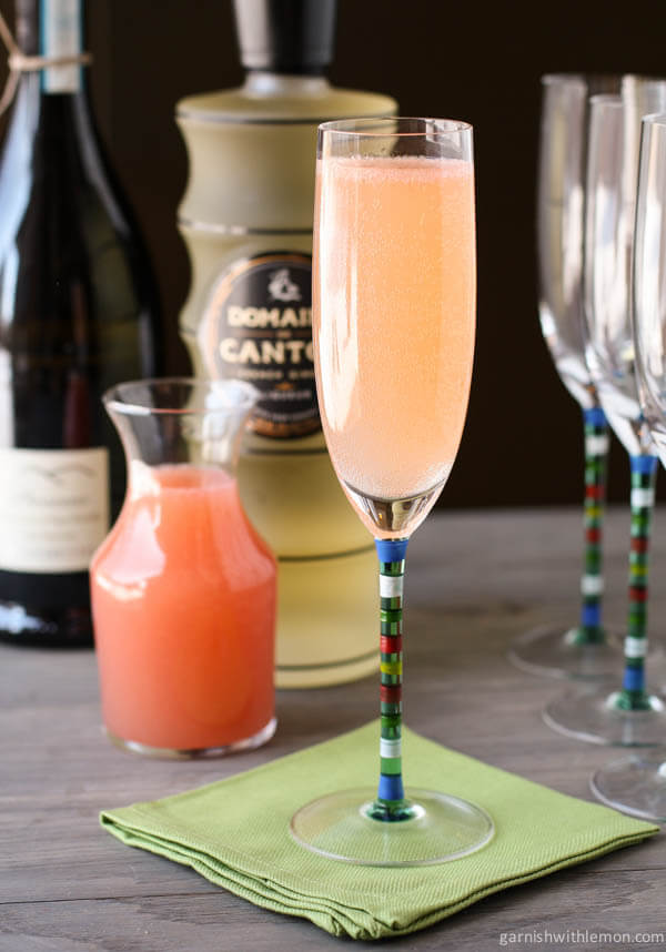 Ginger Grapefruit Sparkler