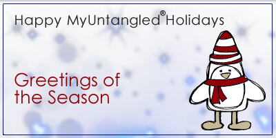 Holiday Greeting Card Inspirations - MyUntangled Holidays