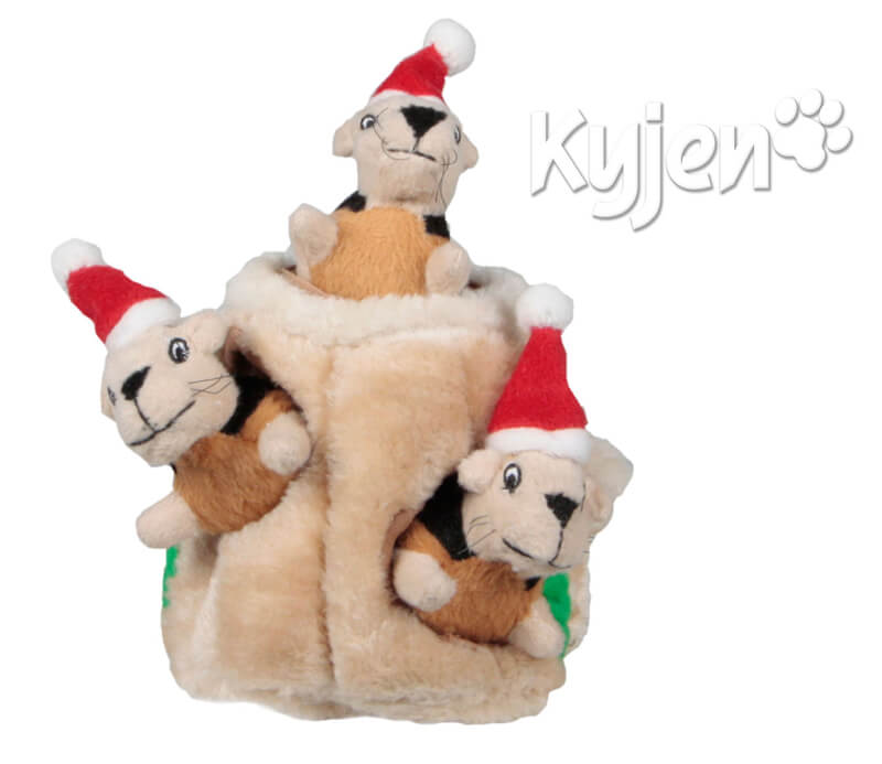 Kyjen Holiday Hide A Squirre - Top Gift for Pets!l