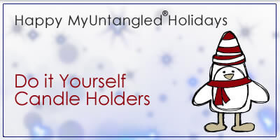 Myuntangled holidays diy holiday candle holders solutioingenieria Images