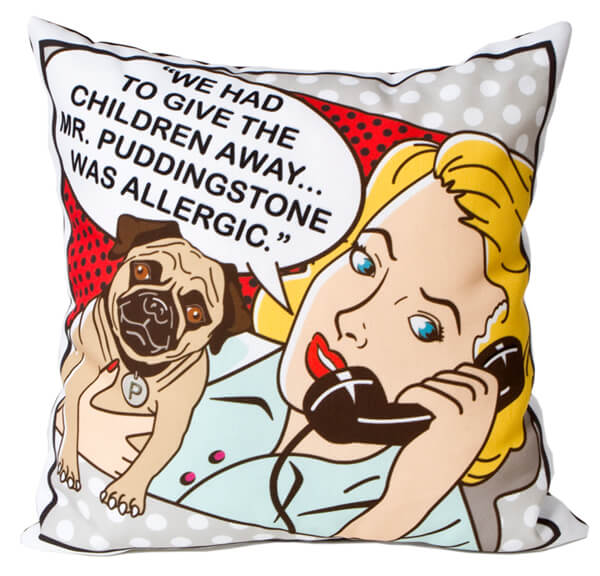 Mr. Puddingstone Pillow