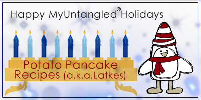 Call them Latkes, call them potato pancakes, call me when they're ready! Celebrate Hanukkah with inspiring recipes and lots of latkes!