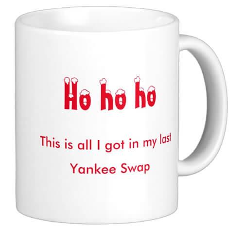 Yankee Swap Mug