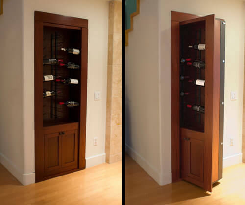 DIY Hidden Door Hinge - A great gift for geeks!