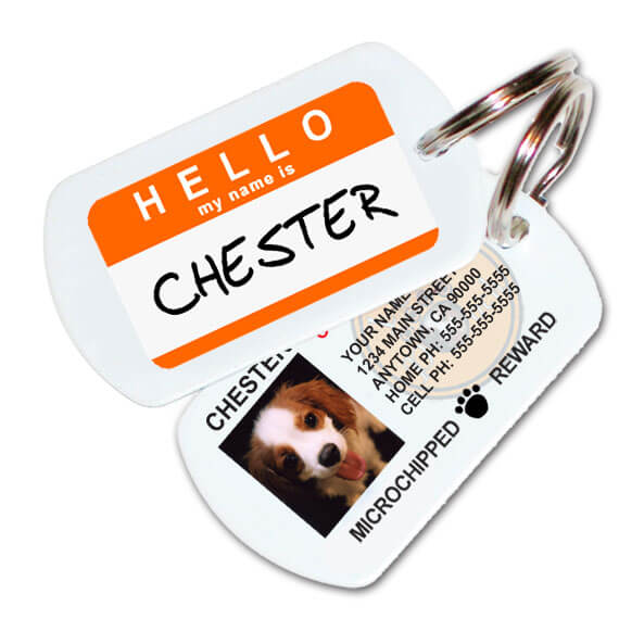 Custom Pet ID Tags - Great Gift for Pet Lovers!