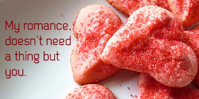Almond Valentine Spritz Cookies