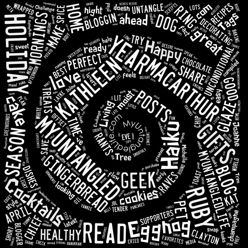 MyUntangled Life 2014 in Words