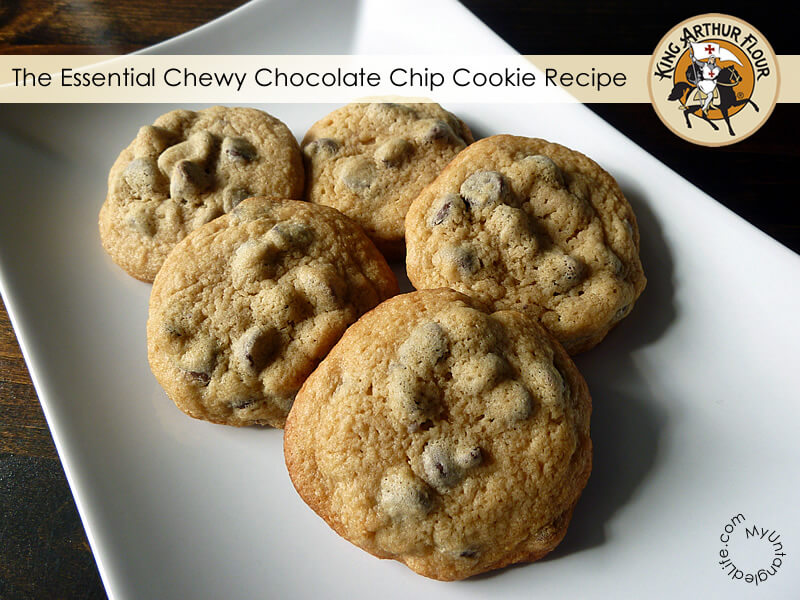 Chewy Chocolate Chip Cookie Recipe from MyUntangledLife.com