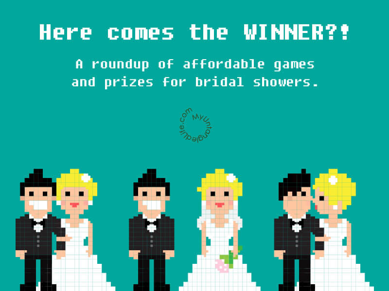 Bridal Shower Game and Prize Ideas - MyUntangled Life