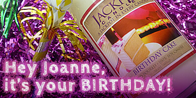 Happy Birthday to our amazing Joanne from Jackpot Candles and the MyUntangled Crew!!