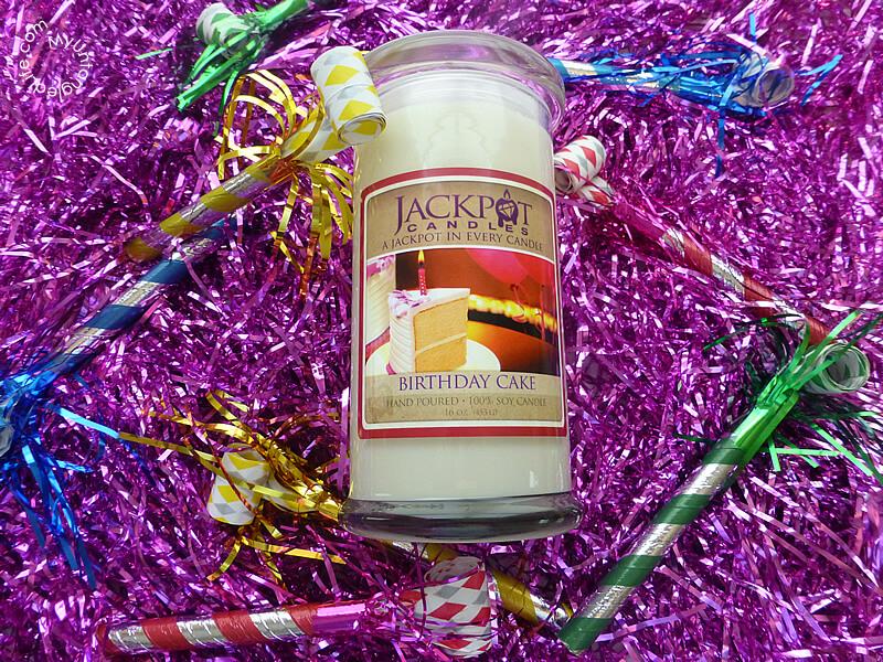 Jackpot Candle Festive Celebration - MyUntangled Life  #JackpotCandles