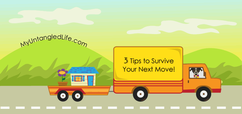 3 Tips for Surving a Long Distance Move - MyUntangled Life