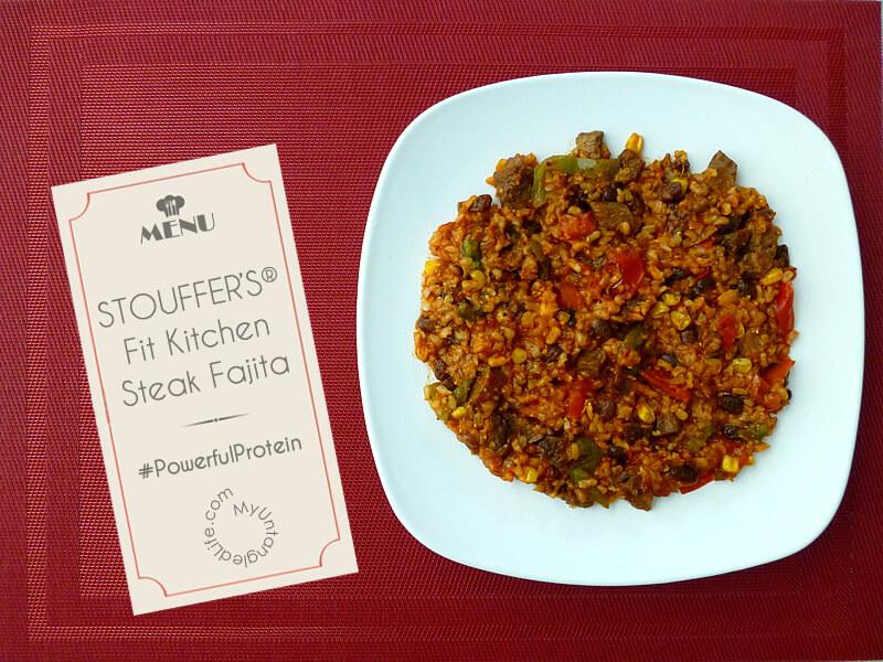 STOUFFER'S® Fit Kitchen Steak Fajita #PowerfulProtein Meals