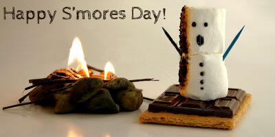 Happy National S'mores Day from MyUntangledLife.com!