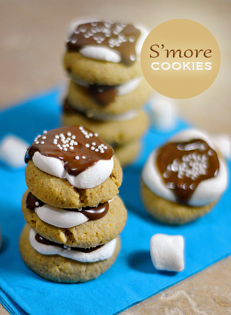 National S'mores Day Recipes | Smore Cookie Recipe