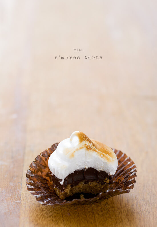 National S'mores Day Recipes | Smores Tarts