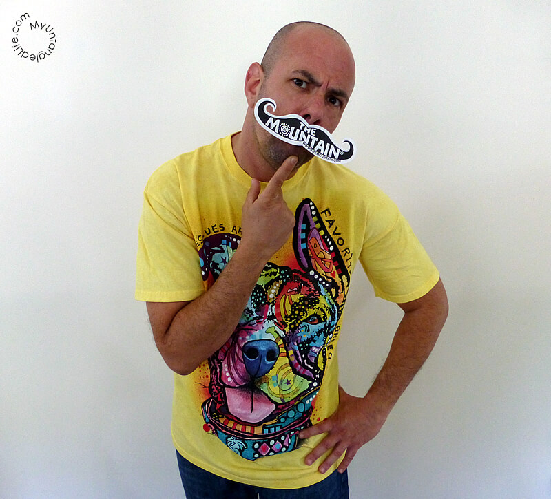 I Mustache You About the Dean Russo Collection of Pet Rescue T-Shirts! #MountainArtwear