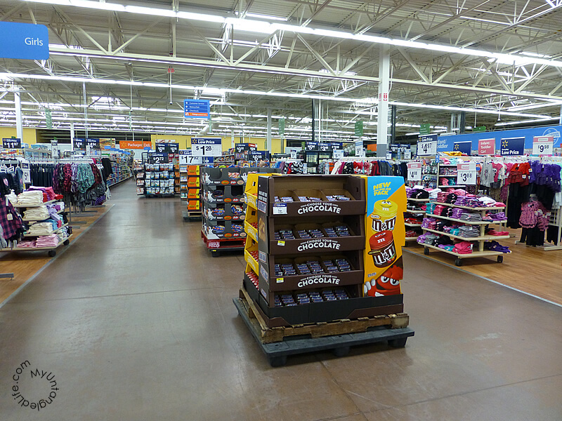 #EatASNICKERS - Walmart Choose Your Chocolate Display