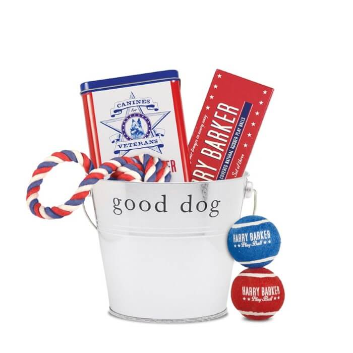 Canines for Veterans Gift Bucket
