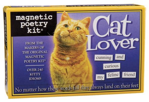Cat Lover Magnetic Poetry Kit