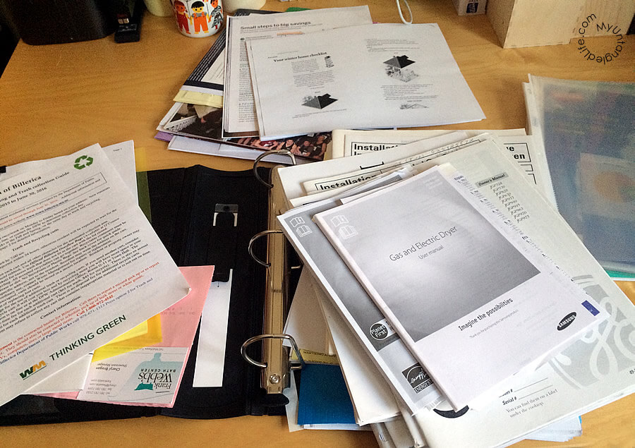 Mess of Home Papers