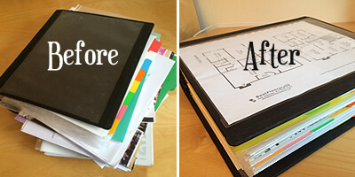 MyUntangled Home Organization Binder