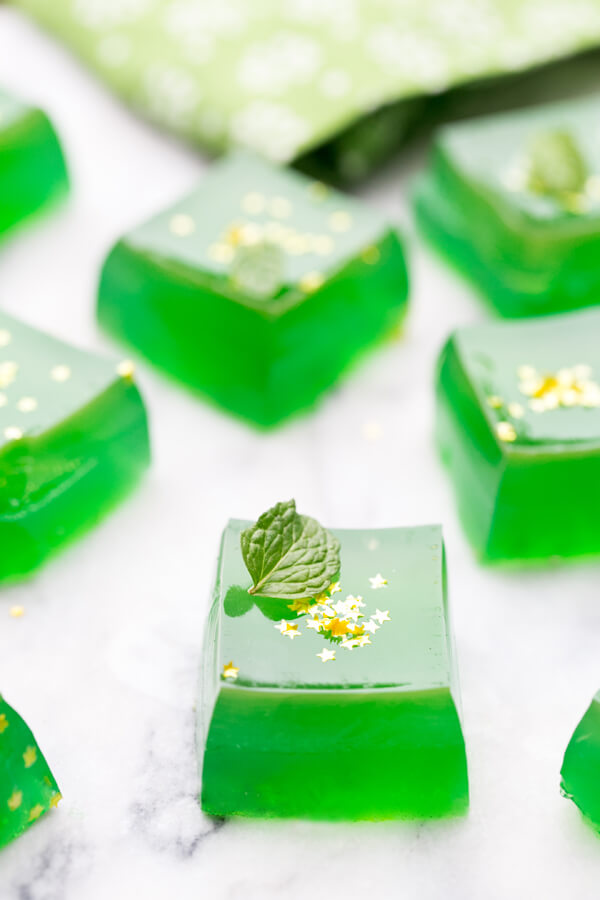 Jameson Jello Shots - St. Patrick's Day Cocktails