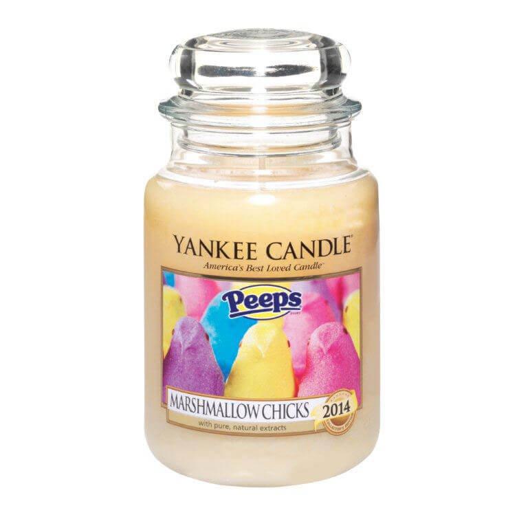 Peeps Yankee Candle