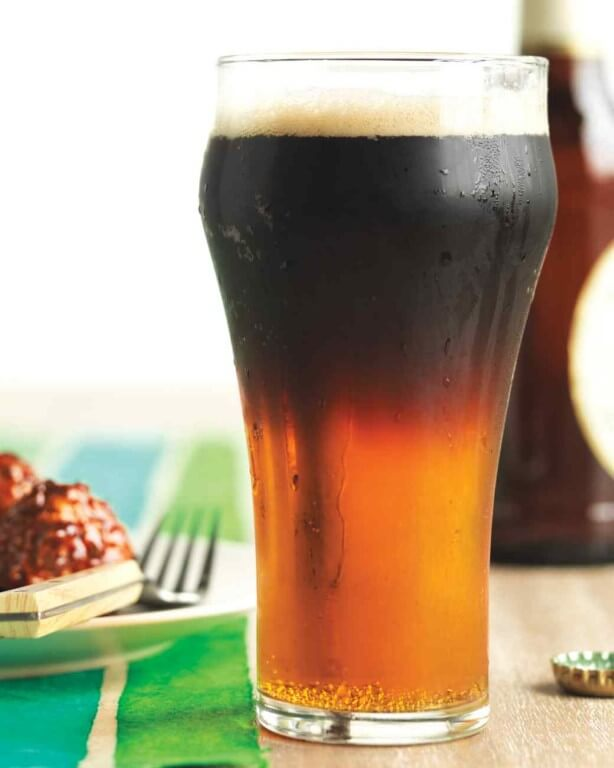 St. Patrick's Day Cocktails - Black and Tan