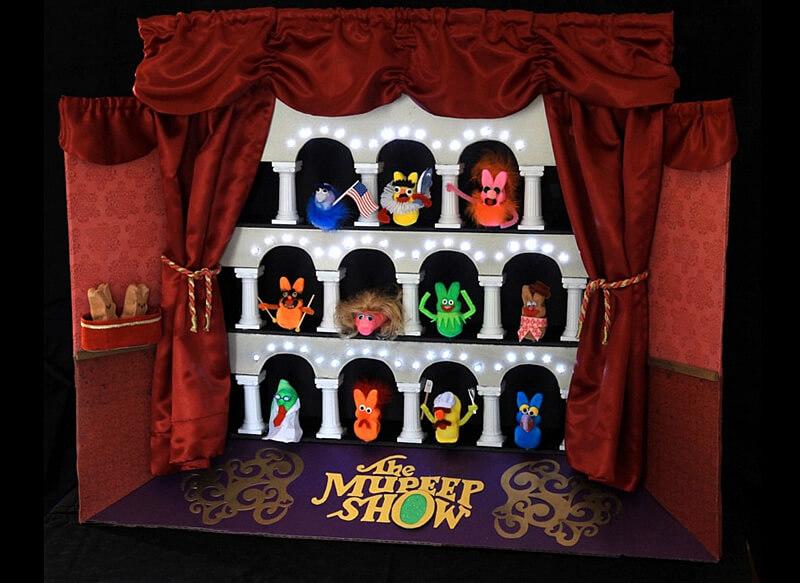 The Mupeep Show Diorama
