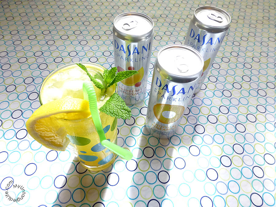 The Dasani Sparkle Tropical Fauxmosa #NewWayToSparkle