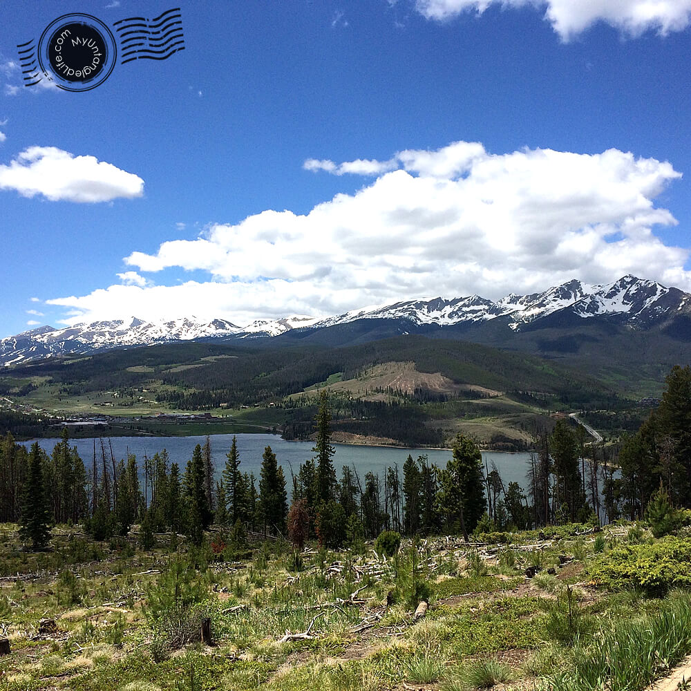 Postcard from Summit County, Colorado