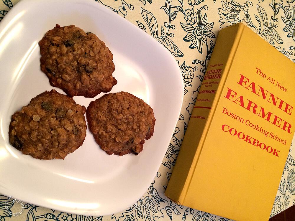 Cape Cod Oatmeal Cookies Recipe